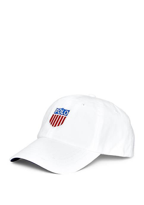 Polo Shield Cotton Twill Cap