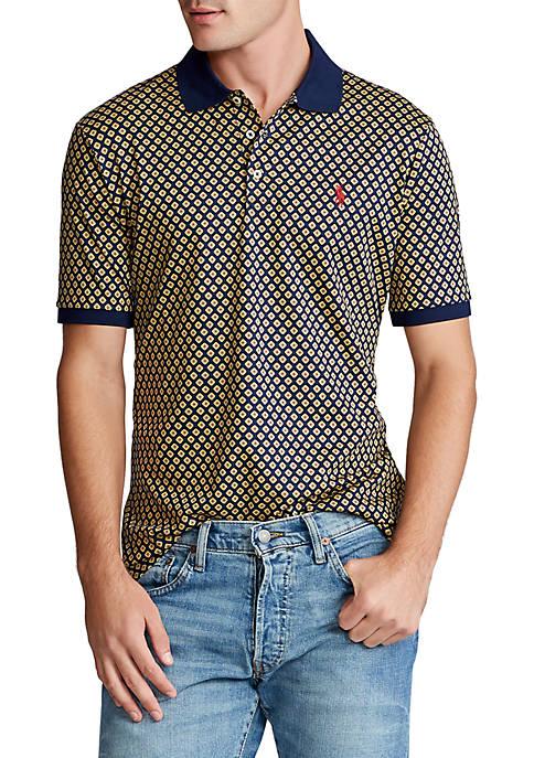 Classic Fit Interlock Polo Shirt