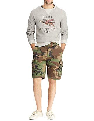 5322cba94 ... Polo Ralph Lauren Relaxed Fit Camo Cargo Shorts