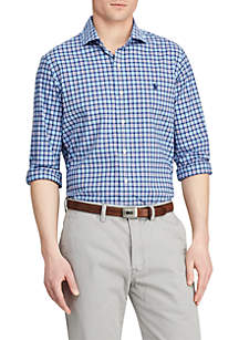 Polo Ralph Lauren Classic Fit Plaid Performance Shirt