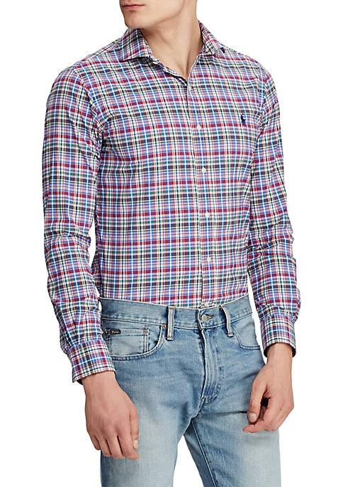 Polo Ralph Lauren Classic Fit Plaid Performance Shirt
