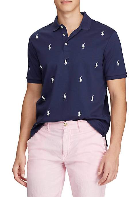 Polo Ralph Lauren Classic Fit Allover Pony Polo
