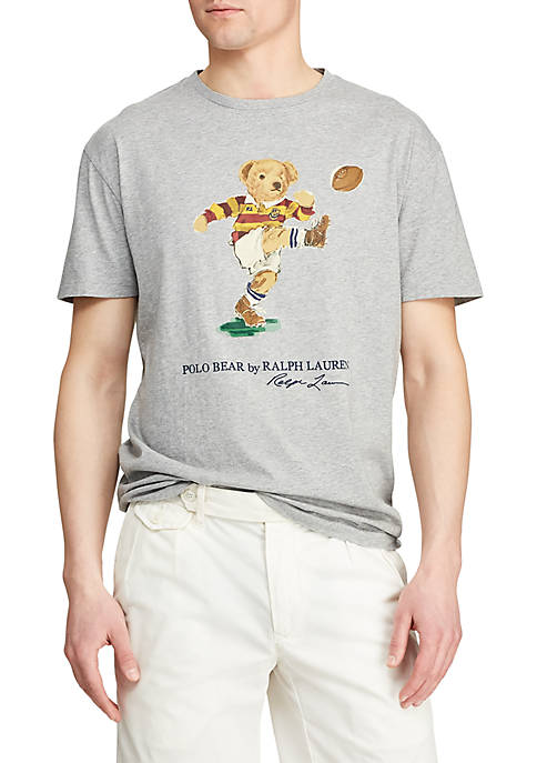 Polo Ralph Lauren Custom Slim Fit Bear Tee
