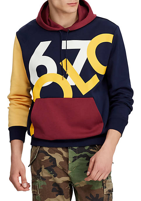 Polo Ralph Lauren Double Knit Graphic Hoodie