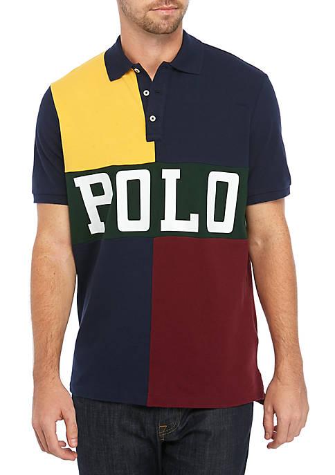 Polo Ralph Lauren Classic Fit Color Block Mesh