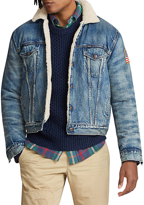 Polo Ralph Lauren Fleece-Lined Denim Jacket