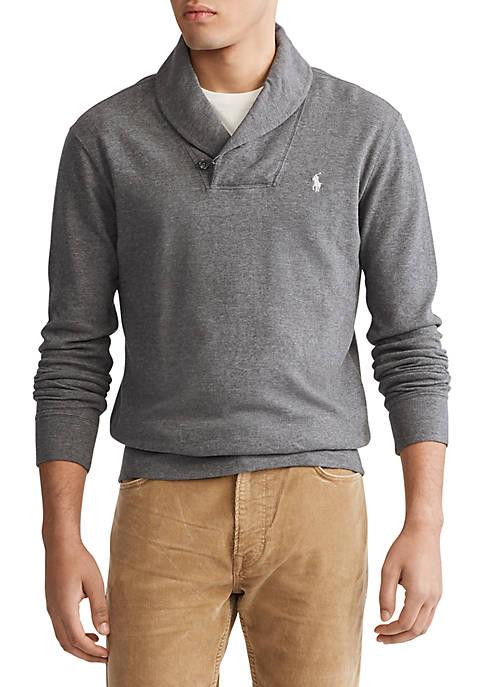Polo Ralph Lauren Interlock Shawl Pullover