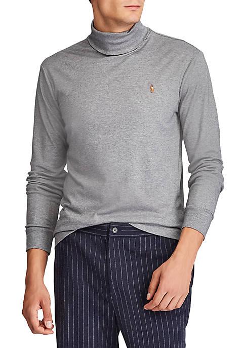 Polo Ralph Lauren Cotton Interlock Turtleneck
