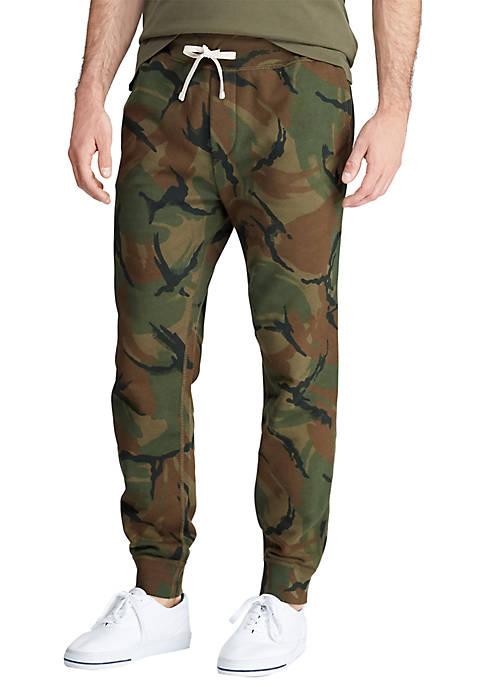 Polo Ralph Lauren Camo Fleece Jogger Pants