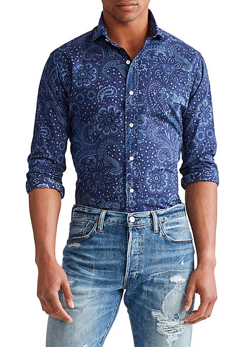 Polo Ralph Lauren Classic Fit Paisley Shirt