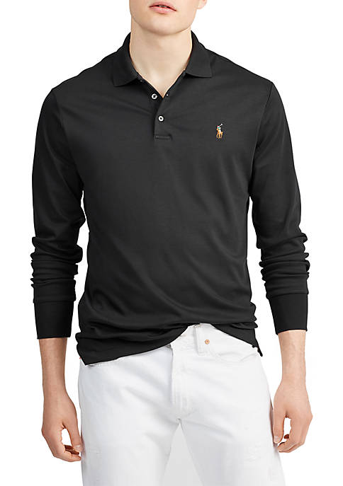 Classic Fit Long Sleeve Polo