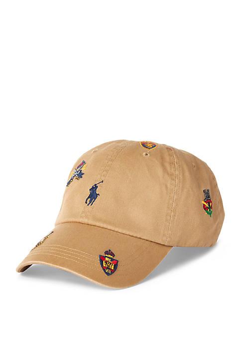 Polo Ralph Lauren Crest Cotton Chino Sports Cap