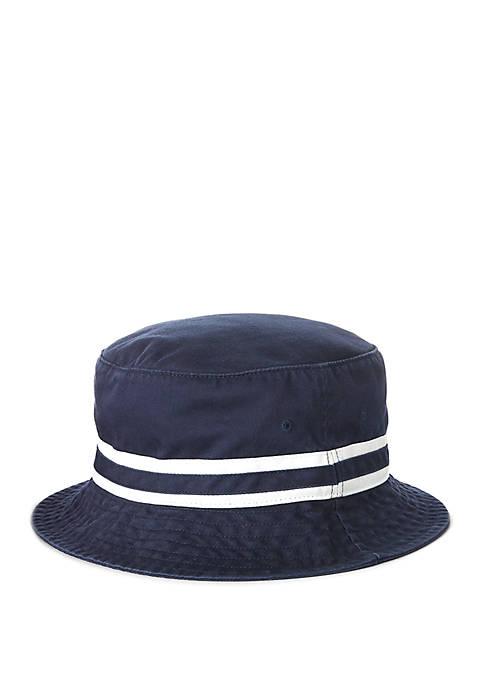 Polo Ralph Lauren Cotton Chino Bucket Hat