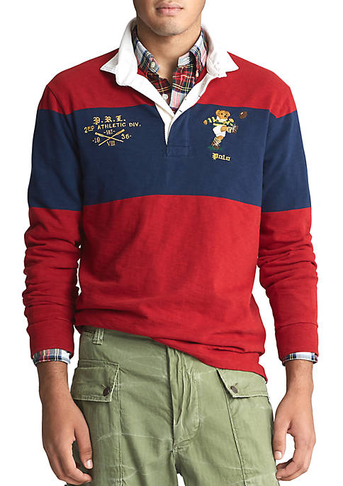 Polo Ralph Lauren Classic Fit Bear Rugby Shirt