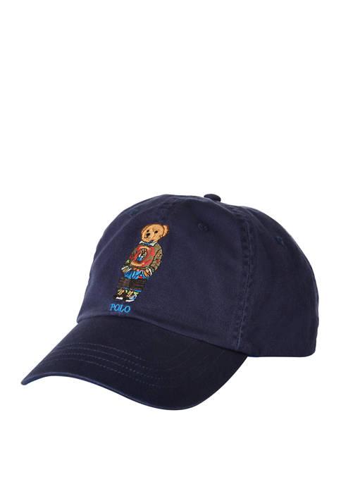Hiking Bear Baseball Cap