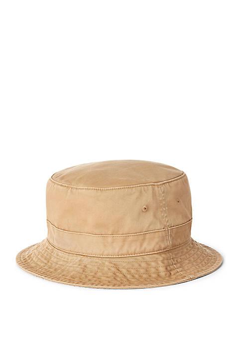 St. Andrews Bear Chino Bucket Hat