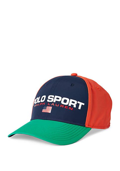 Polo Ralph Lauren Color Blocked Polo Sport Baseball