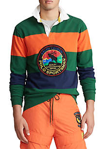 Polo Ralph Lauren Classic Fit Striped Rugby Shirt