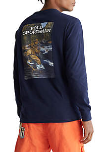 Polo Ralph Lauren Classic Fit Sportsman Long Sleeve Tee