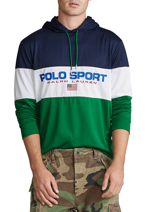 Polo Ralph Lauren Performance Jersey Graphic Hoodie