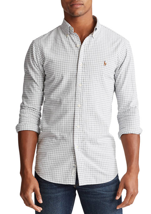 Polo Ralph Lauren Classic Fit Gingham Oxford Shirt
