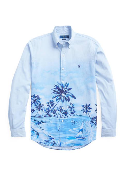 Polo Ralph Lauren Classic Fit Hawaiian Oxford Shirt
