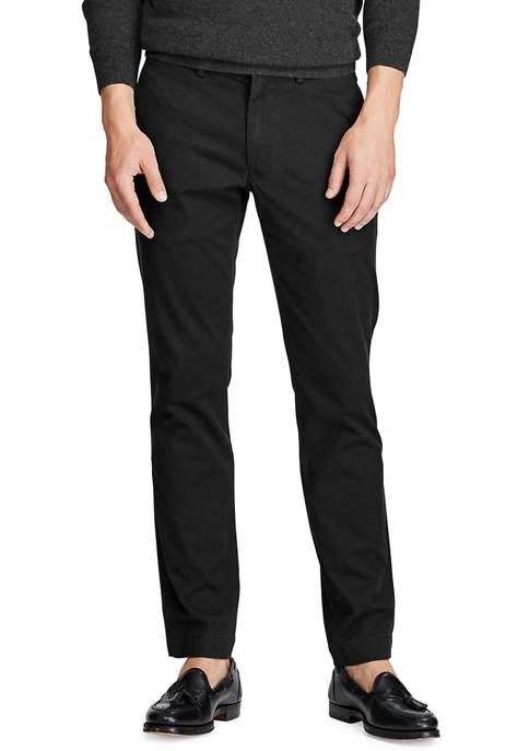 Stretch Slim Fit Cotton Chino Pants