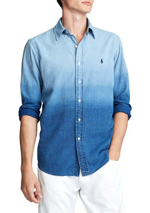 Polo Ralph Lauren Classic Fit Dip Dyed Shirt