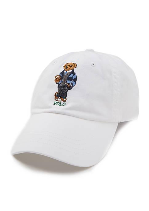 Polo Ralph Lauren Preppy Bear Chino Cap