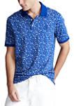 Classic Fit Floral Soft Cotton Polo Shirt