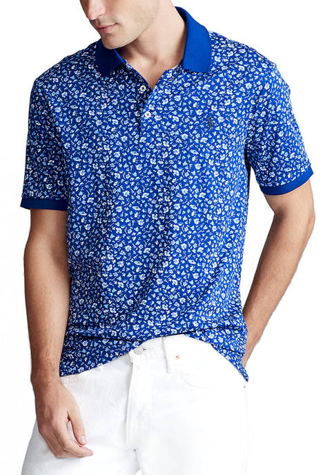 Polo Ralph Lauren Classic Fit Floral Interlock Polo