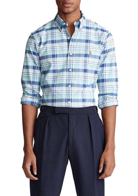 Polo Ralph Lauren Slim Fit Plaid Stretch Shirt