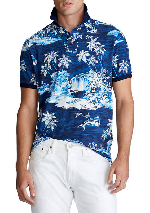 Polo Ralph Lauren Classic Fit Tropical Mesh Polo