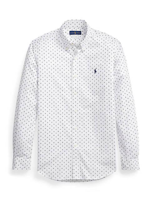 Polo Ralph Lauren Classic Fit Anchor-Print Shirt