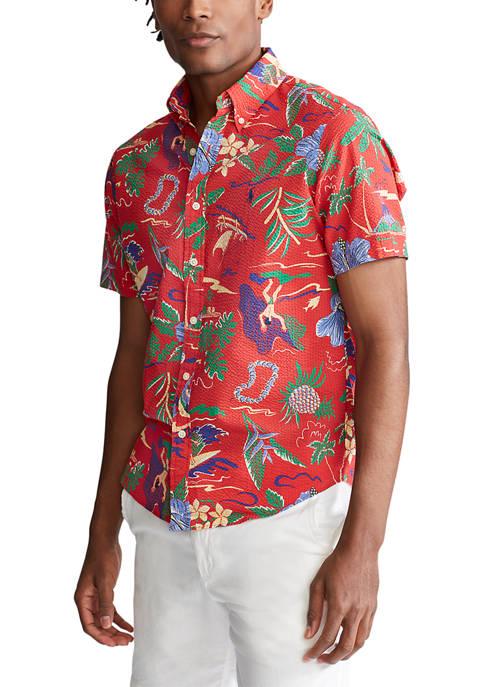 Polo Ralph Lauren Seersucker Polo Shirt