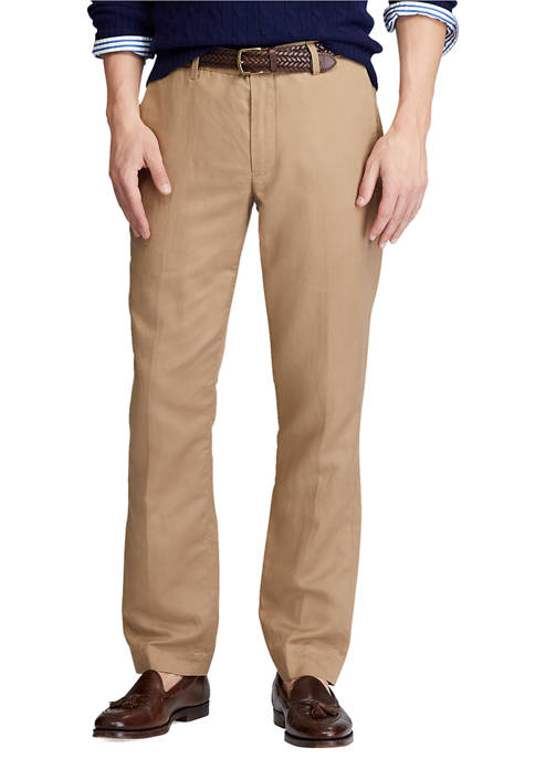 Polo Ralph Lauren Straight Fit Linen Blend Pants