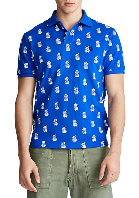 Polo Ralph Lauren Classic Fit Pineapple-Print Polo Shirt