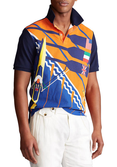 Polo Ralph Lauren Classic Fit Rowing Polo Shirt