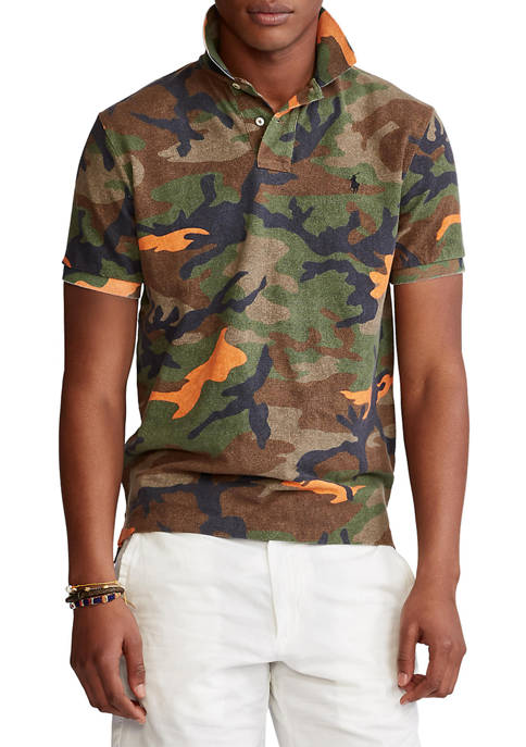 Polo Ralph Lauren Classic Fit Camo Polo Shirt