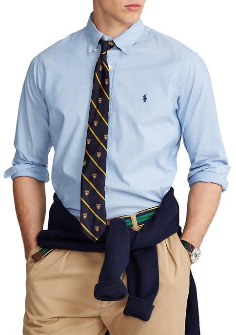 Classic Fit Stretch Oxford Shirt