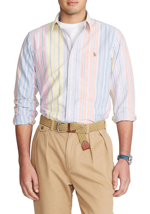 Polo Ralph Lauren Classic Fit Striped Oxford Shirt