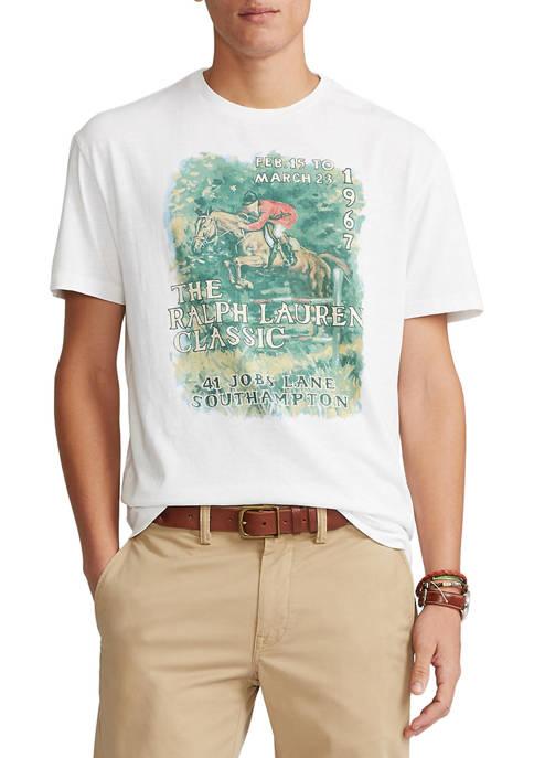 Polo Ralph Lauren Classic Fit Jersey Graphic T-Shirt