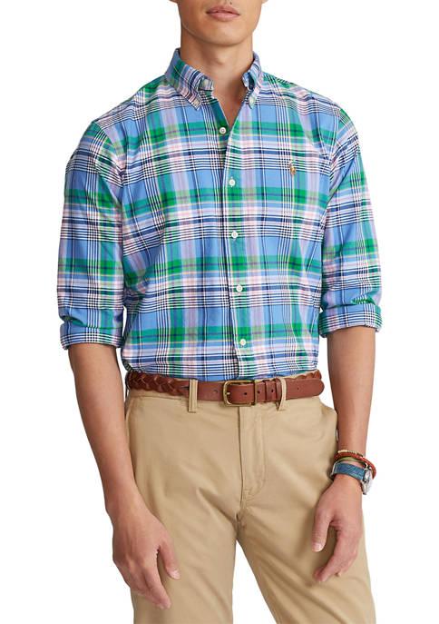 Classic Fit Tattersall Oxford Shirt