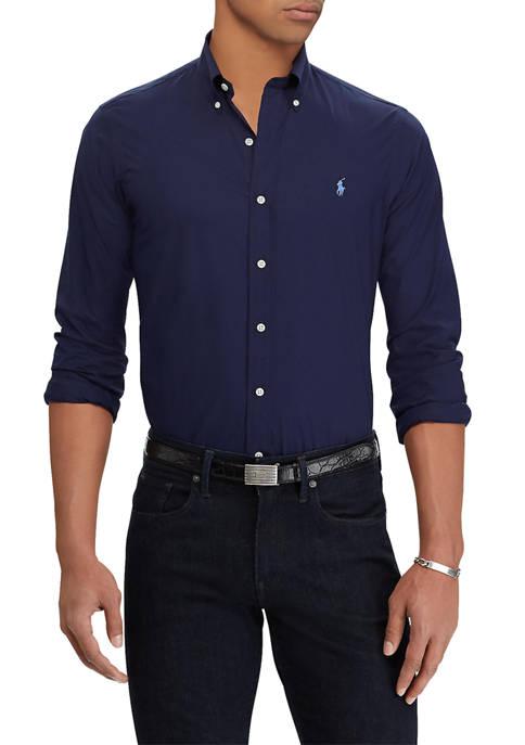 Polo Ralph Lauren Classic Fit Checked Poplin Shirt