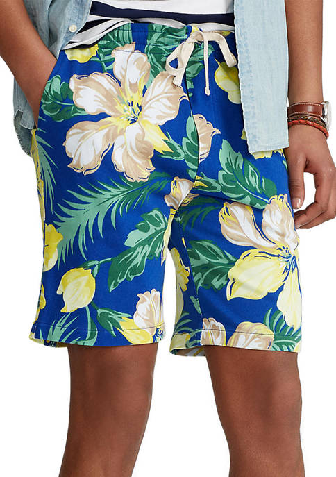 Polo Ralph Lauren 8-Inch Floral Spa Terry Shorts