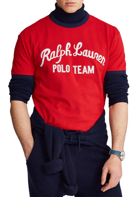 Polo Ralph Lauren Classic Fit Embroidered Logo T-Shirt