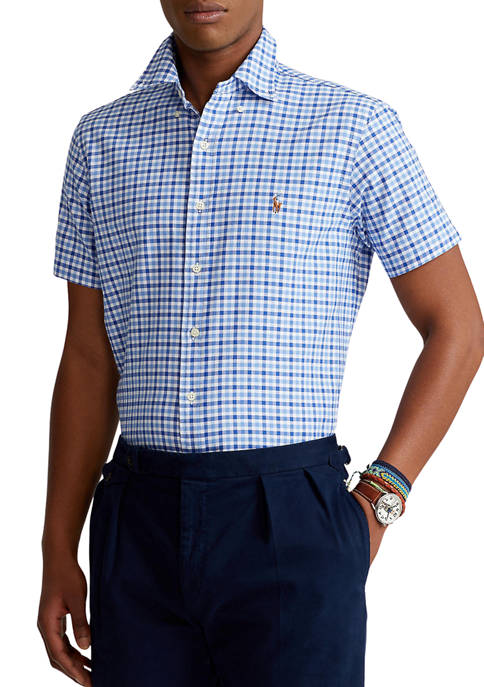 Polo Ralph Lauren Classic Fit Checked Oxford Shirt