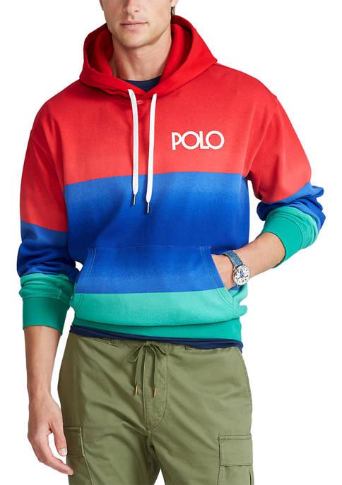 Polo Ralph Lauren Logo Ombré Hooded T-Shirt