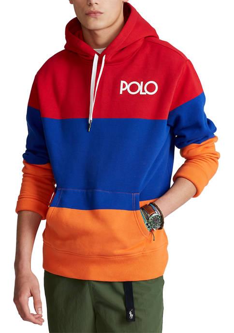 Polo Ralph Lauren Color-Blocked Fleece Hoodie