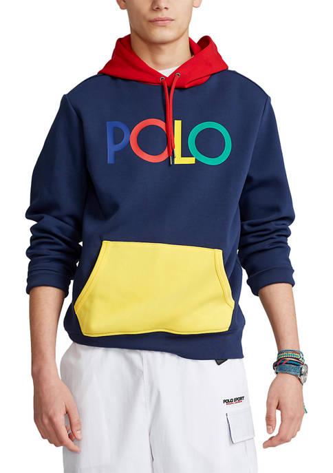 Polo Ralph Lauren Logo Double Knit Hoodie
